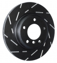 EBC Black Dash Discs + EBC Redstuff für VW Golf 6 R